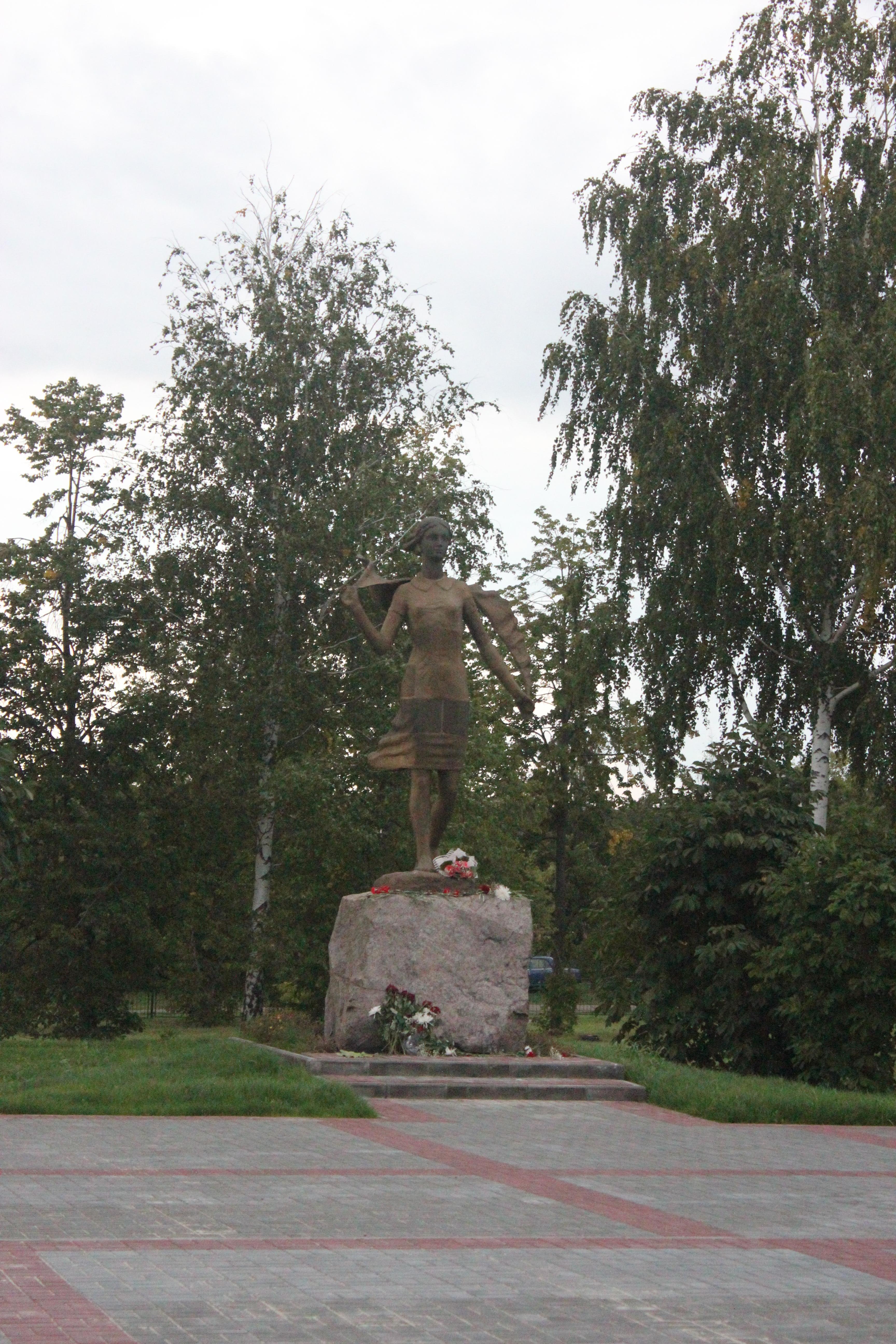 Памятник Зои Космодемьянской